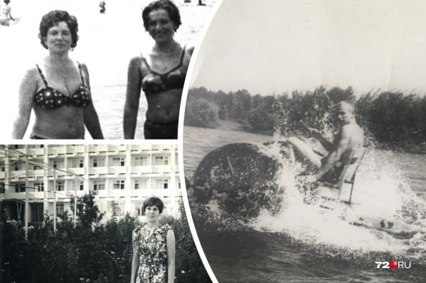 Таким был отдых тюменцев в далекие советские времена. Люди, как и сейчас, старались сделать памятные снимки на фотоаппарат. Правда, тогда каждый кадр был на счету