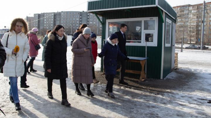 Челябинцы пожаловались на «кладбище киосков» в Ленинском районе