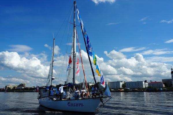 В экспедицию отправятся яхты «Сибирь» и «Жемчужина»