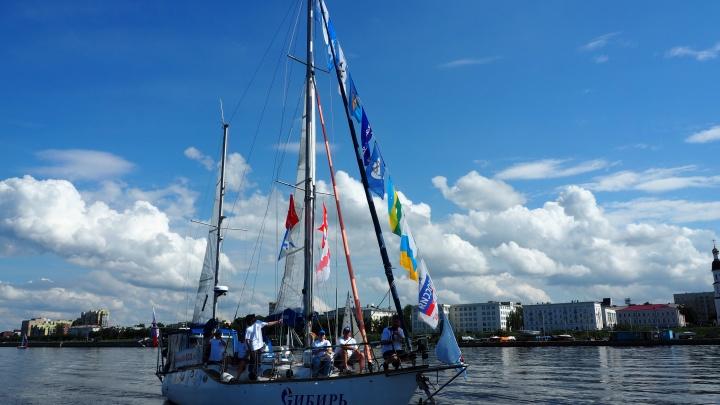 Из Архангельска в Омск отправится парусная экспедиция в честь 75-летия Победы