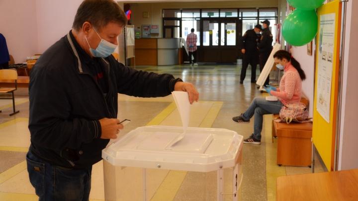 В Зауралье началось досрочное голосование на выборах депутатов Курганской областной думы