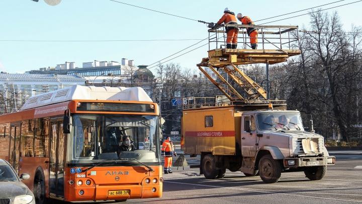 Площадь Минина готовят к ремонту. Троллейбусы поедут по-новому