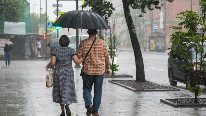Дождливо и тепло: публикуем прогноз на первую неделю августа