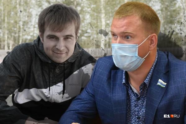 Сергей Титов (слева) был новеньким в компании охотников