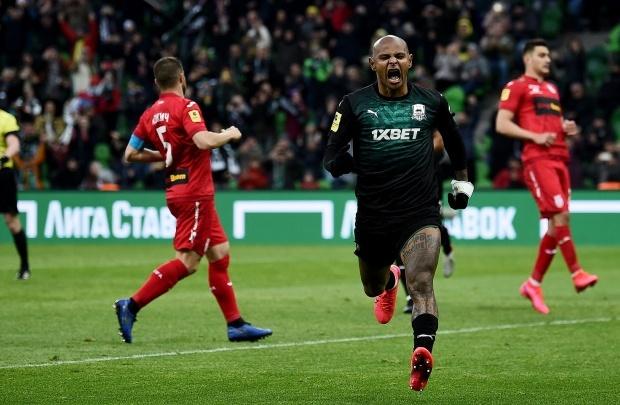 «Уфа» проиграла «Краснодару» в матче со спорным пенальти