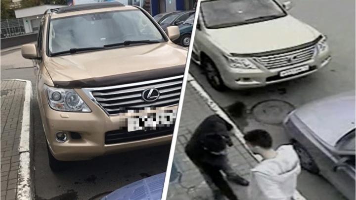 Следователь на золотом Lexus потребовал пересмотреть дело о конфликте на заправке
