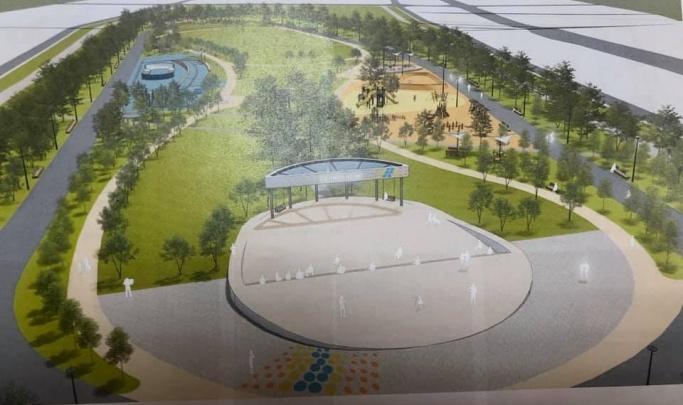 Объявлено о начале работ над «путинским» парком в Солнечном на пустыре возле «Аллеи»