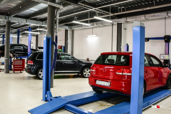 Повреждения автомобилей на сервисах — не редкость