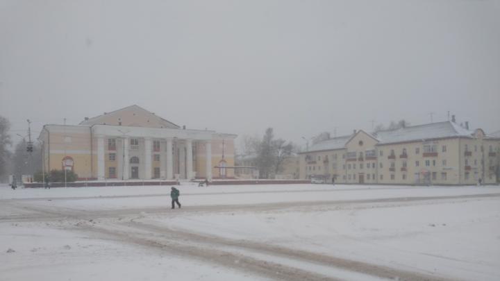 Последние дни октября в Архангельской области пройдут при мокром снеге