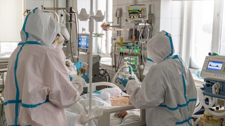 В НСО от коронавируса умерли еще восемь человек — самому молодому было 48 лет