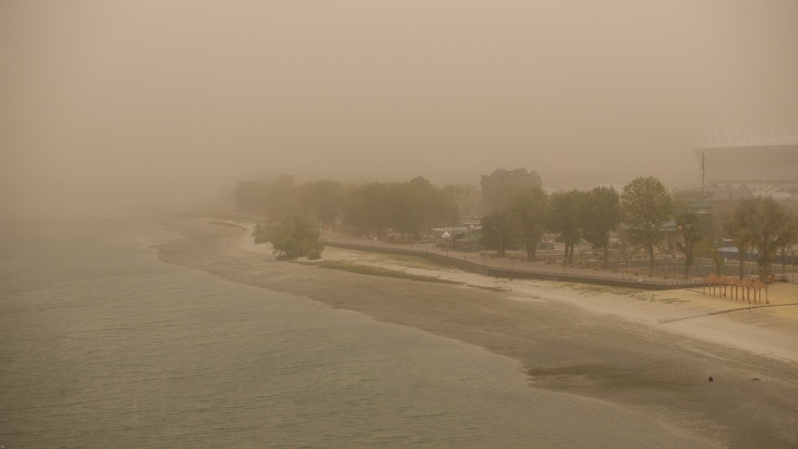 Пылевые бури продолжатся в Ростовской области, местами их сменят грозы