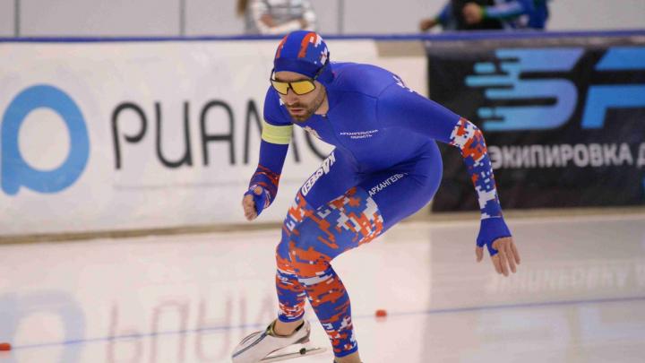 Архангельский спортсмен Александр Румянцев взял бронзу на Кубке Союза конькобежцев России