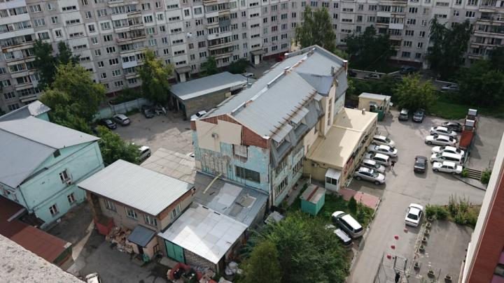 Новосибирцы потребовали у властей выкупить старую кондитерскую фабрику и обустроить на её месте парк