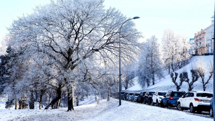 Резкие заморозки до -13 °С возвращаются в Нижегородскую область
