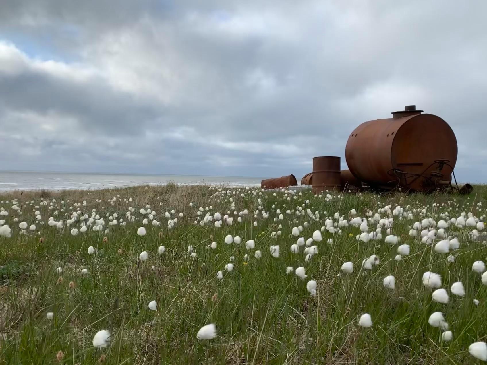 К сожалению, металлолома в Арктике ещё много