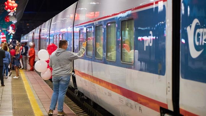 Из Самары в Санкт-Петербург и обратно снова начнет ходить поезд «Стриж»