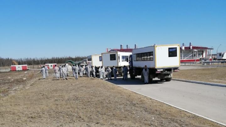 «На следующей неделе обещают волю»: прилетевших из Якутии вахтовиков массово тестируют на коронавирус