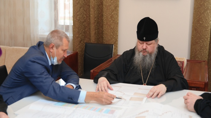 Михаило-Архангельский собор на площади Профсоюзов планируют открыть в 2022 году
