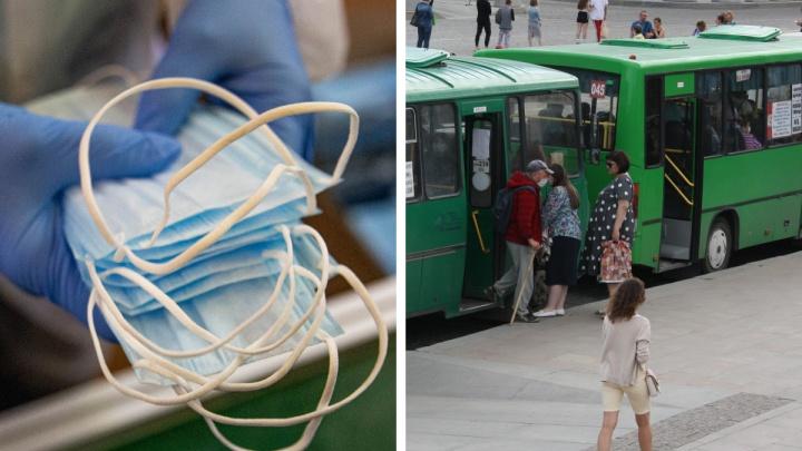 Большинство пассажиров ездят в автобусах и трамваях без масок. Эпидемиолог объяснила, чем это опасно