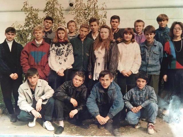 Судя по этому фото, подвороты на джинсах были в моде ещё в конце прошлого столетия