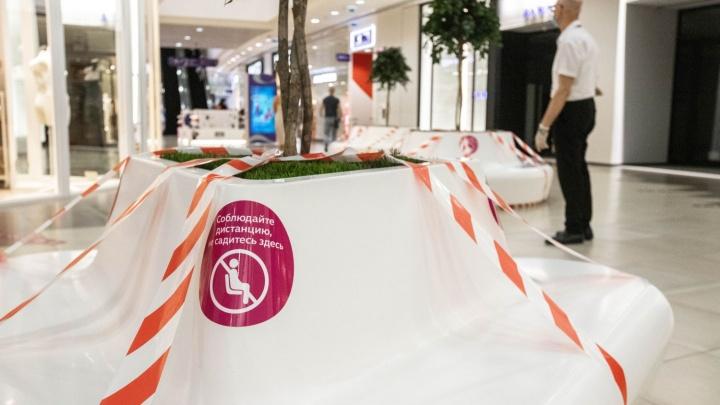 Три месяца без шопинга: фото в первые часы после открытия одного из главных ТРЦ Новосибирска