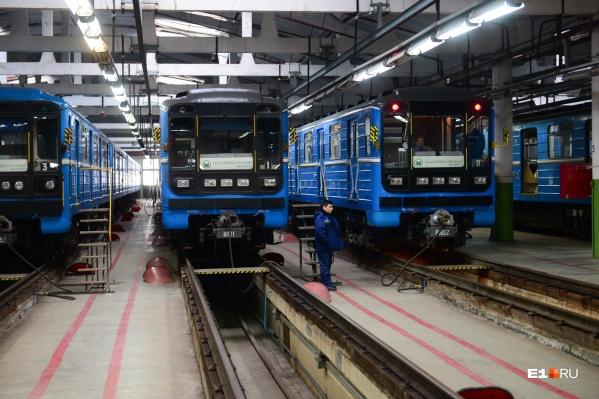 В 2018 году метрополитен начал модернизировать старые составы, у которых заканчивался срок эксплуатации