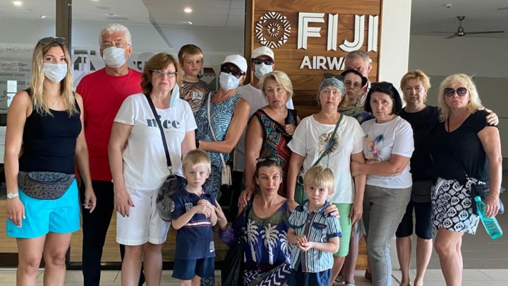 Самолету, который должен был забрать застрявших уральцев с Фиджи, запретили посадку