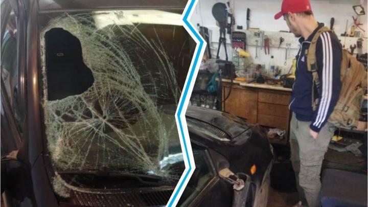 Спрятал разбитый автомобиль в гараже: под Новосибирском нашли водителя, который насмерть сбил женщину