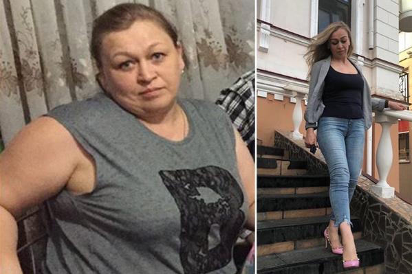 Добиться таких результатов Ольге удалось при помощи дочери — омского фитнес-тренера