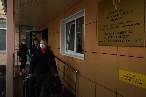 Специалисты улетели в Москву 13 мая