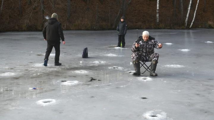 В Екатеринбурге открыли сезон зимней рыбалки