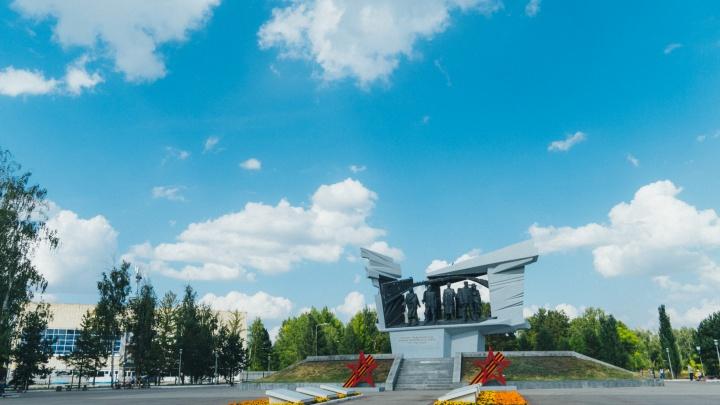 Омичи выбрали место для стелы «Город трудовой доблести»