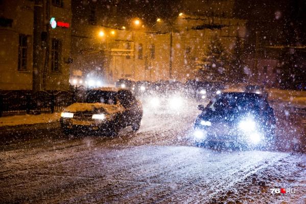 Согласно прогнозам синоптиков, на дорогах ожидаются заторы из-за заносов
