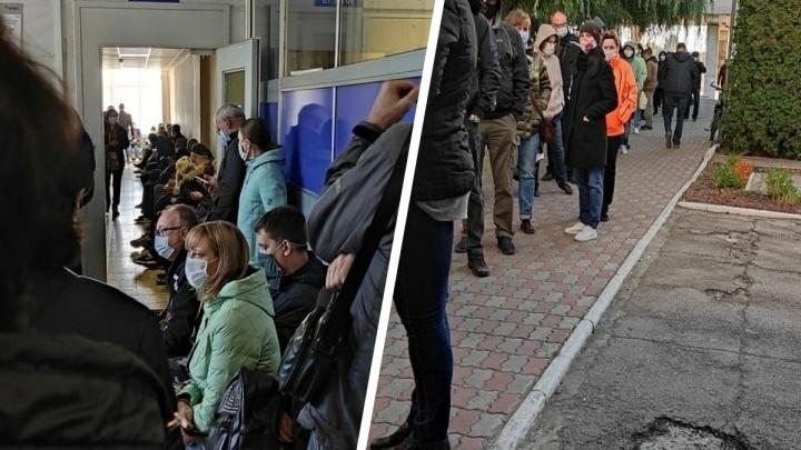 В Минздраве объяснили причины огромных очередей в поликлиниках Самары и Тольятти