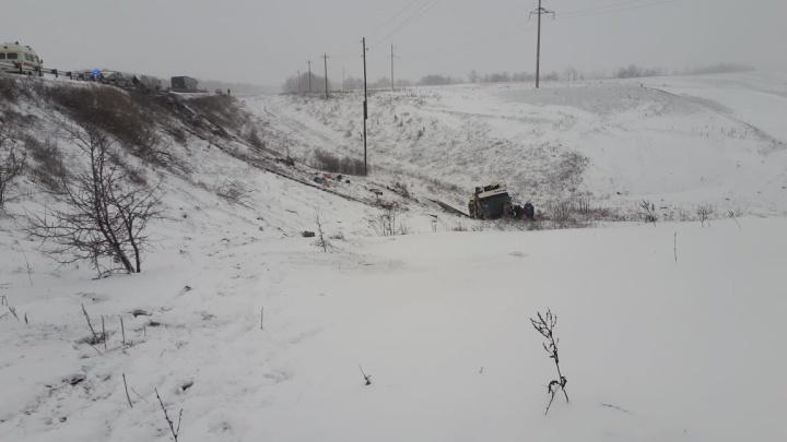 «Был ураганный ветер»: число раненых в волгоградских автобусах под Тамбовом возросло до 19 человек