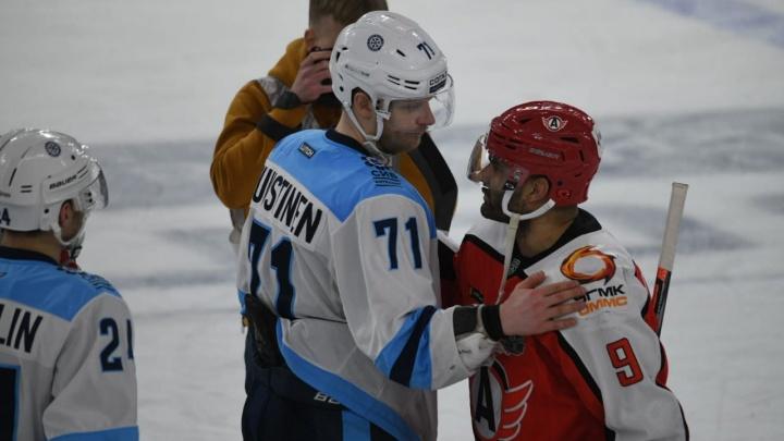 Сезон для «Автомобилиста» — всё: «Сибирь» выбила екатеринбуржцев из борьбы за Кубок Гагарина
