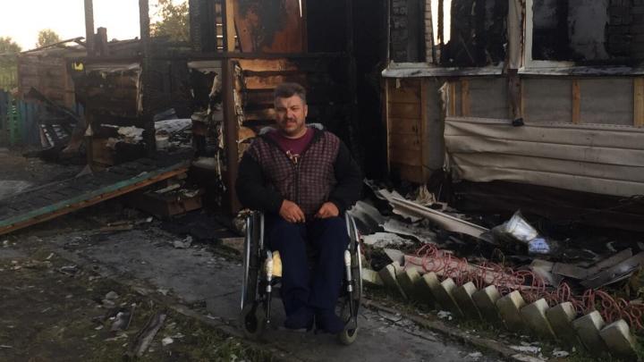 «Раздался страшный грохот»: в Ярославской области молния сожгла дом инвалида-колясочника