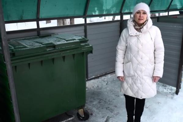 Идеальная контейнерная площадка находится в Богдановиче