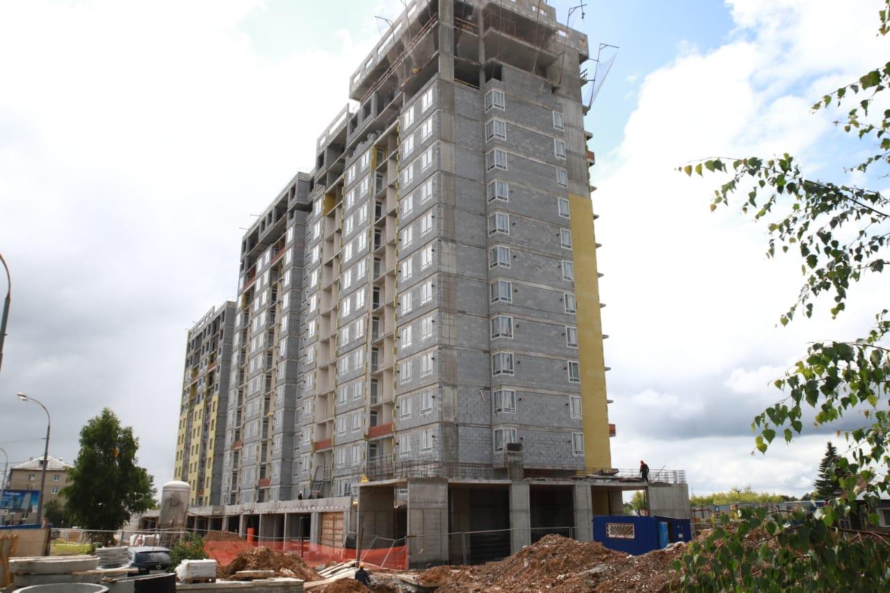 В некоторых квартирах будут угловые окна