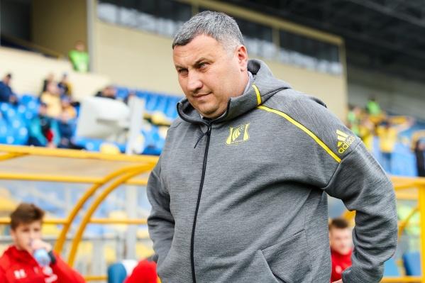 В матче против «Сочи» Заур Тедеев занял место Валерия Карпина