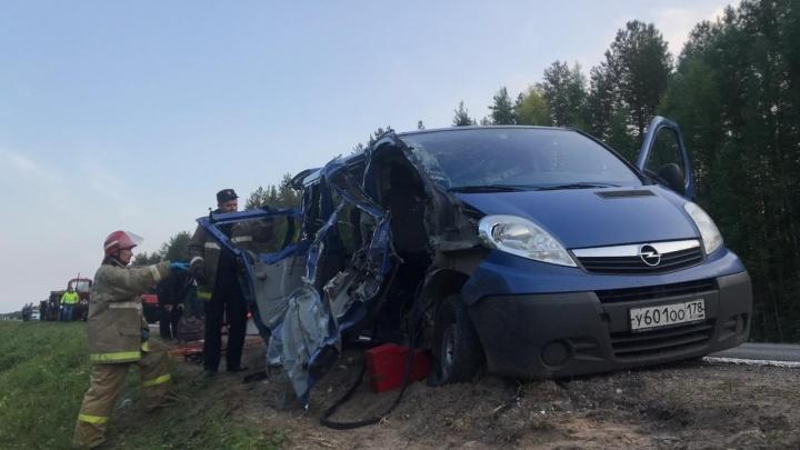 Под Емецком столкнулись трактор и микроавтобус. Есть пострадавшие в тяжелом состоянии