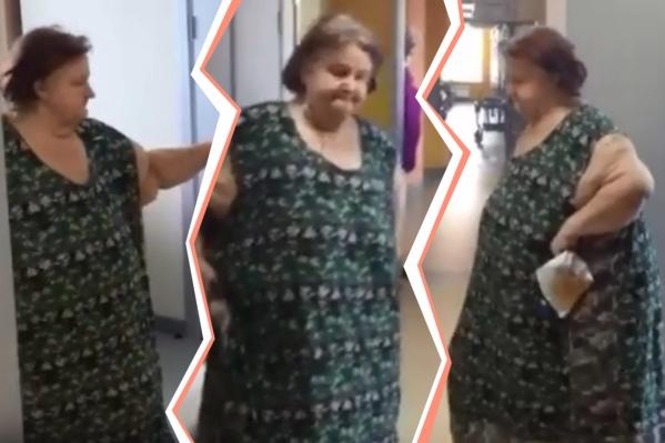 Так Любовь Михайловна выглядит сейчас — она похудела за два месяца на 192 килограмма