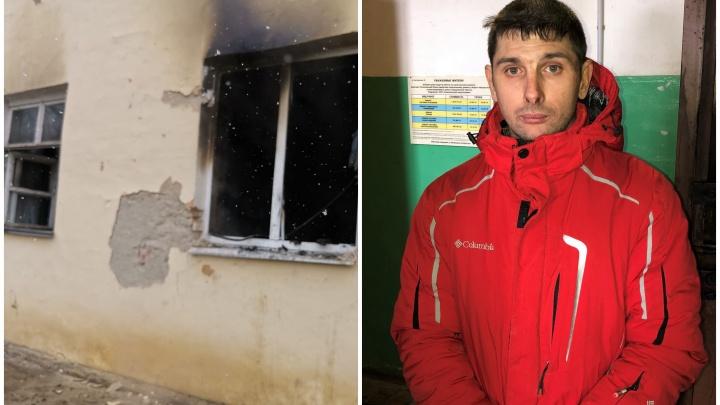 В Каменске-Уральском мужчина пролез в форточку и вытащил из пожара двух пожилых соседок