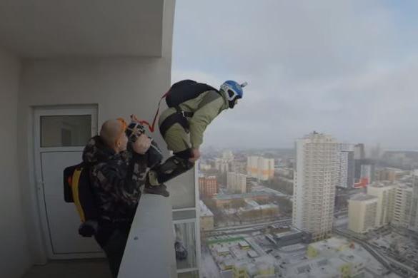В Екатеринбурге скоро не останется высоток, с которых бейсджамперы еще не прыгали