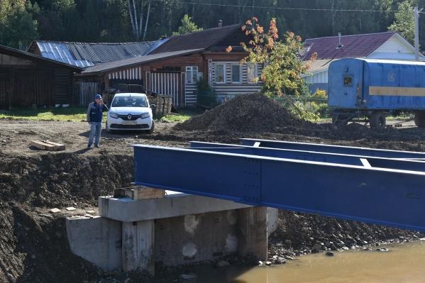 Нижние Серги продолжают восстанавливать после мощного июльского потопа