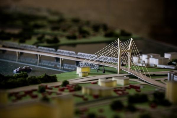 Ограничения вводят из-за строительства четвертого моста