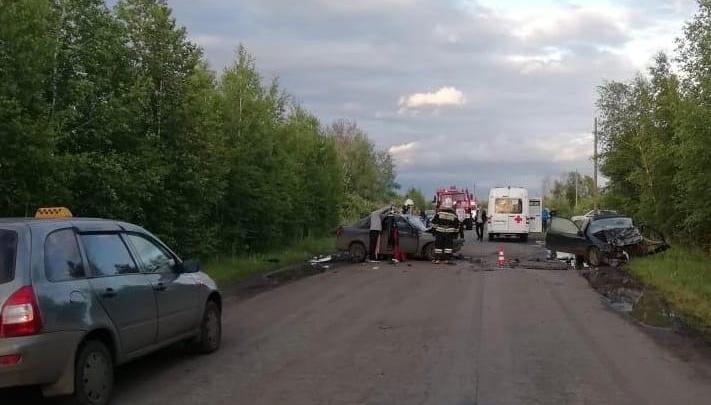 В ДТП под Омском погибли два человека. Оба водителя были без прав
