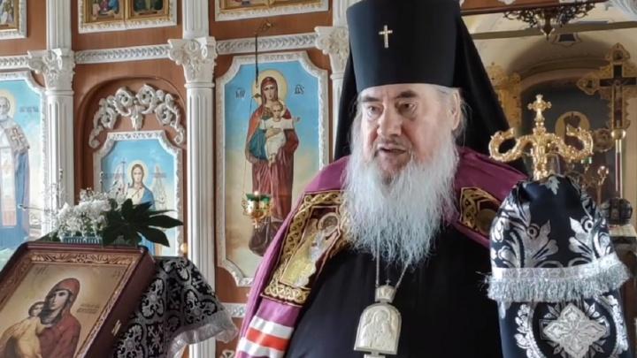 «Я не полицейский»: соликамский архиепископ отказался закрывать храмы из-за коронавируса