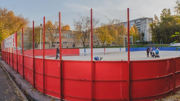 В Пермском крае за два года планируют построить 34 хоккейные коробки