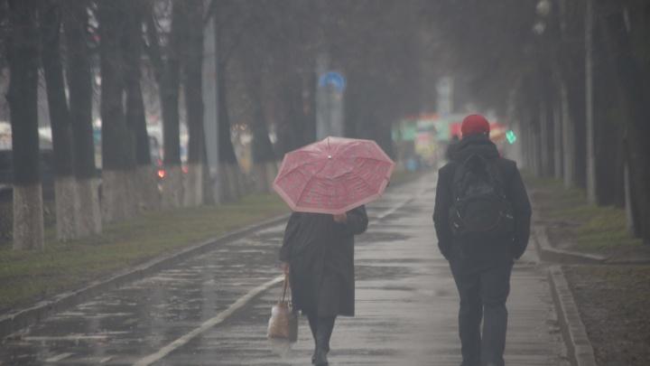 На Башкирию надвигаются дожди и грозы